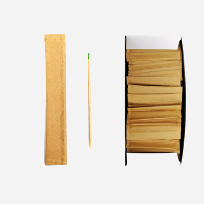 Bamboo Toothpick with Mint