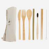 Bamboo Cutlery Flatware Set